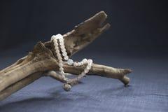 Roze Crystal Bracelet Stock Foto's