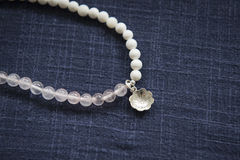 Roze Crystal Bracelet Royalty-vrije Stock Afbeeldingen