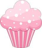 Roze Cupcake Stock Foto's