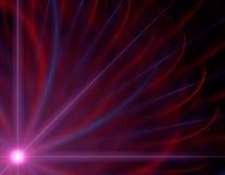 Roze dageraad stock illustratie