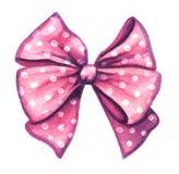 Roze decoratief giftlint Royalty-vrije Stock Foto's