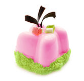 Roze dessert Stock Foto's