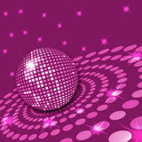 Roze Disco Stock Afbeelding