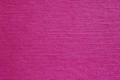 Roze document geweven achtergrond Stock Afbeelding