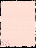 Roze document malplaatje Stock Foto
