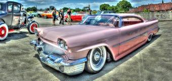 Roze 1960 Dodge Royalty-vrije Stock Afbeeldingen