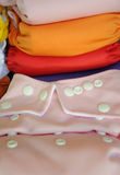 Roze doekluier in dichte omhooggaand Royalty-vrije Stock Foto