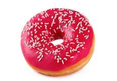 Roze doughnut royalty-vrije stock afbeeldingen