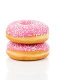 Roze doughnut Royalty-vrije Stock Foto's