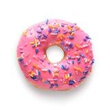 Roze doughnut royalty-vrije stock fotografie