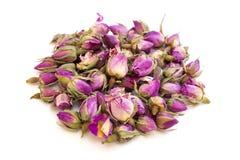 Roze droge rosebuds Stock Fotografie