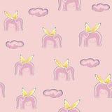 Roze dromen Royalty-vrije Stock Foto