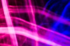 Roze en blauwe abstracte achtergrond Stock Afbeelding