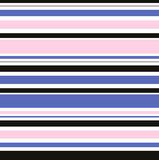 Roze en Blauwe het Ontwerpillustratie van Manierstrepen, Uitstekende jaren '30 a Stock Afbeelding