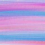 Roze en blauwe waterverftextuur Stock Afbeeldingen