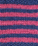 Roze en blauwe wol. Royalty-vrije Stock Foto