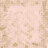 Roze en Bruin Achtergrond of Behang stock illustratie