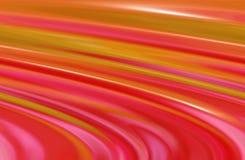 Roze en gele strepen Stock Fotografie
