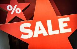 Roze en gele verkoop Royalty-vrije Stock Afbeelding
