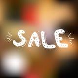 Roze en gele verkoop Royalty-vrije Stock Foto