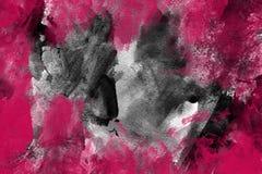 Roze en grijze achtergrond Stock Foto's