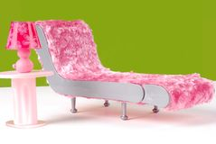 Roze en Groen Decor royalty-vrije stock afbeeldingen