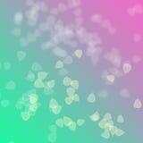 Roze en groen op abstracte achtergrond Royalty-vrije Stock Afbeeldingen