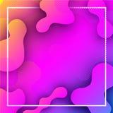 Roze en lilac achtergrond met abstract patroon Royalty-vrije Stock Fotografie