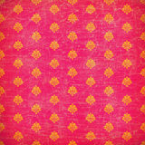 Roze en oranje damast grunge behang Royalty-vrije Stock Afbeeldingen