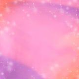 Roze en purpere abstracte de winterachtergrond Vaag Behang als achtergrond Stock Afbeelding