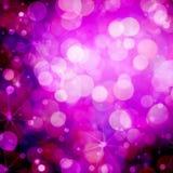 Roze en Purpere Bokeh Royalty-vrije Stock Afbeeldingen