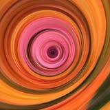 Roze en sinaasappel Stock Afbeelding