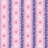 Roze en Violet Abstract Geometric Retro Pattern Royalty-vrije Illustratie