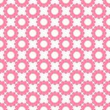 Roze en Witte BloemenAchtergrond Royalty-vrije Stock Afbeelding