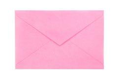 Roze envelop Royalty-vrije Stock Foto
