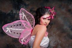 Roze Fee stock afbeelding