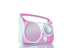 Roze FM-Radio Stock Afbeeldingen
