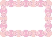 Roze frame Stock Afbeeldingen