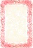 Roze frame Stock Afbeelding