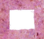 Roze frame royalty-vrije stock foto
