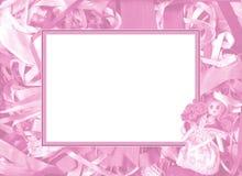 Roze frame Stock Fotografie