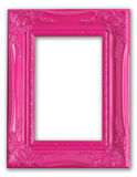 Roze frame royalty-vrije stock foto's