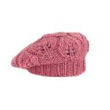 Roze Franse baret Royalty-vrije Stock Afbeelding
