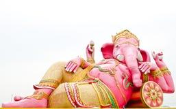 Roze ganeshastandbeeld stock foto