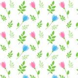 Roze geplaatste linten Stock Illustratie