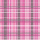 Roze geruite Achtergrond Royalty-vrije Stock Afbeeldingen
