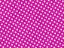 Roze gestippelde achtergrond Stock Afbeeldingen