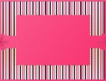 Roze gestreepte achtergrond Stock Foto's