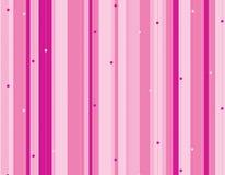 Roze gestripte achtergrond Royalty-vrije Stock Afbeeldingen