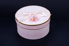 Roze giftdoos royalty-vrije stock foto